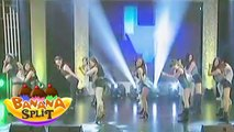 Star Magic Angels sizzle Banana Split stage