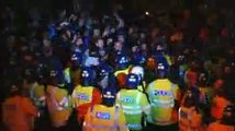 Anarchists clash with London police