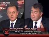 Ο Μάκης Βορίδης στο ALTER για οικονομική κρίση. (1/2)