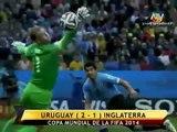 Uruguay vs Inglaterra (2-1) | Mundial Brasil 2014 | ATV