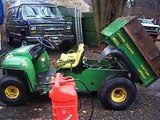 john deere gator old start cold start