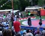 La compagnie Le Cirque Bidon, cirque d'art et de poésie