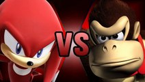 Donkey Kong Country 2 & Knuckles (KNOCK KNOCK IT'S KNUCKLES)