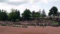 Video Parata militare della legione straniera francese
