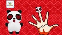 Finger Family Panda Toy Cartoon Animation Nursery Rhymes   Panda Bear Finger Family Songs For Baby