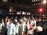 "PS22 Chorus ""Jingle Bells"" at Saks 5th Avenue Windows Unveiling"