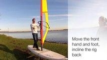 Tacking - RYA Training - Learn to Windsurf - Windsurfing Techniques