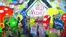 140802 Red Velvet(레드벨벳) Happiness(행복) @ Music Core 1080p KHJ