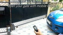 Mobile Controlled Gate in Kerala (Automatic Gate). Contact : 07025920001, 7025920004