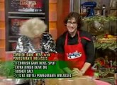 Josh Groban on Live with Kelly (CoHosting) 12-8-2011 Part 4--Cooking with Anne Burrell