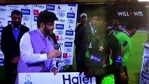 Mukhtar Ahmed Man of Match: Second T20 Pakistan vs Zimbabwe