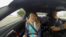 Nissan GT-R Launch Control Reactions - at GT Academy 2013 #RaceCamp GTR