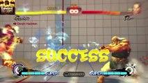 Ultra street fighter 4 Trials 1 à 24 Gouken...Défis 1 à 24 Gouken.
