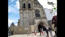 VIDEO. A Blois, les cloches de la cahédrale Saint-Louis sonnent pour les chrétiens d'Orient