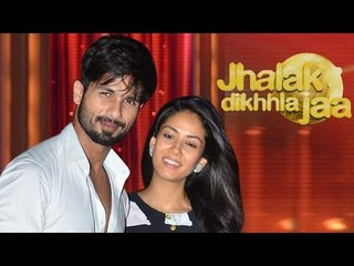 Shahid Kapoor Introduces Wife Mira Rajput on Jhalak Dikhla Jaa 8