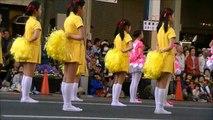 浜松まつり 吹奏楽パレードで 可愛いチアガール発見