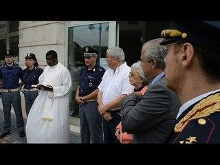 Inaugurazione ufficiale del posto di polizia estivo a Bellaria e Riccione