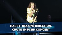 Harry, des One Direction, chute en plein concert