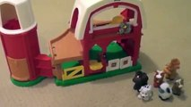 Little People Animal Sounds Farm Barn made by Fisher Price Toy Review