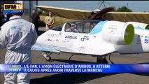 E-Fan: l'avion électrique a réussi sa traversée de la Manche