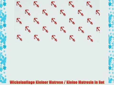 48 x 73 cm rot Schardt 13 602 00 00 1//731 Wickelauflage Bubbles