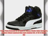 Puma Puma Rebound v2 Hi CAMO Jr Unisex-Kinder Hohe Sneakers Schwarz (black-nautical blue-dark