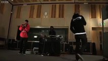 "Odd Future's Tyler The Creator, Hodgy Beats & Syd Tha Kid Perform ""Analog"" For Radio 1 Live Session"