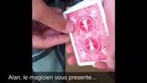 Tour de magie- explication- la piece a travers la carte