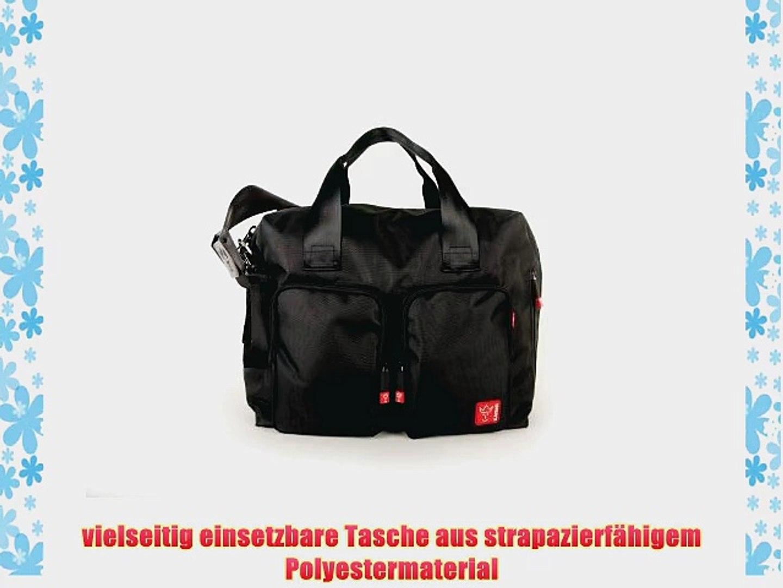 Farbe Wickeltasche Messenger schwarz Kaiser 6572225