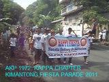 AKP 1972 KAPPA CHAPTER: KIMANTONG FIESTA PARADE 2011
