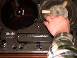 Tandberg model 12 stereo reel-to-reel tape recorder