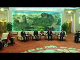 Former US President Bill Clinton meets President Xi Jinping during China visit
