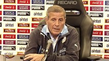 Primeros entrenamientos de la selección uruguaya
