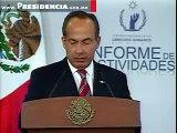 El Presidente Calderón en el Informe de la Comisión Nacional de los Derechos Humanos