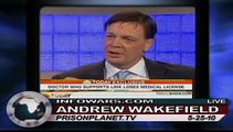 Dr. Andrew Wakefield Warns of Tainted Vaccines Link to Autism on Alex Jones Tv 4/4