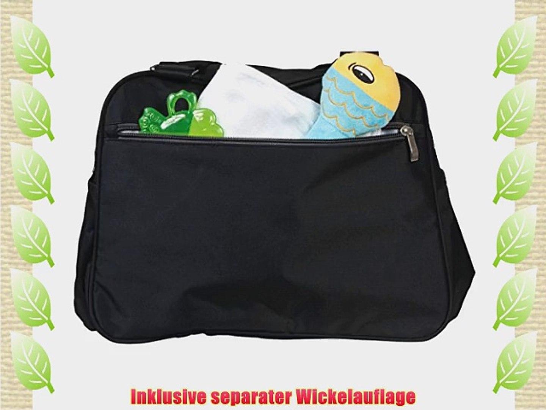 5 tlg  Wickeltasche Pflegetasche Kindertasche Babytasche Tragetasche Handtasche