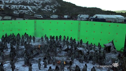 Game of Thrones : bataille White Walkers (effets spéciaux)