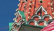 7/7 Tourisme en Russie Visiter Moscou Cathédrale Basile-le-Bienheureux -- Tourism in Russia Visit Moscow Pokrovski Cathedral -- Tourismus in Russland Besuchen sie Moskau Kathedrale Basilius der Selige -- Turismo en rusia Visitar Moscú Catedral de Basilio