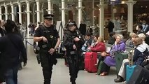 Policing the railways - Armed police
