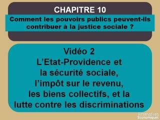 Term chap 10 l'Etat providence, la sécurité sociale, l'impôt sur le revenu, les biens collectifs et la lutte contre les discriminations (2)
