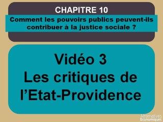 Term chap 10 Les critiques de l'Etat-Providence (3)