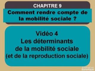 Term chap 7 Les déterminants de la mobilité sociale (et de la reproduction sociale) (4)
