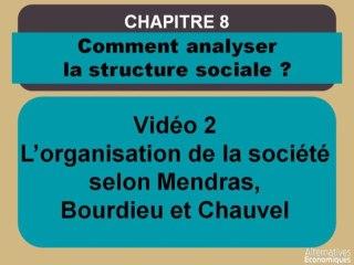 Term chap 6 L'organisation de la société selon Mendras, Bourdieu et Chauvel (2)