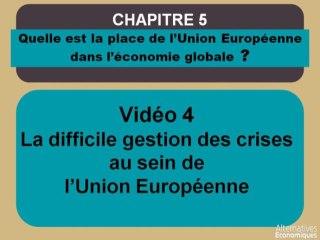 Term chap 4 La difficile gestion des crises au sein de l'Union Européenne (4)