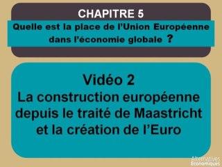 Term chap 4 La construction européenne depuis le traité de Maastricht et la création de l'Euro (2)