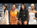 BET Awards 2015 Worst Dressed Celebs Jazmine Sullivan, Mila J, Naturi Naughton