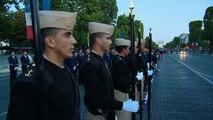 [14 Juillet] Premier défilé pour les forces armées mexicaines