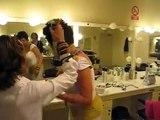 "CRISTINA LA VENENO ""BACKSTAGE DONDE ESTAS CORAZON"" 11/04/08"