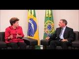 Reunión de Danilo Medina y la Presidenta de Brasil, Dilma Rousseff