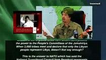 Colonel Muammar al Gaddafi speech 20/09/2011 - Libya